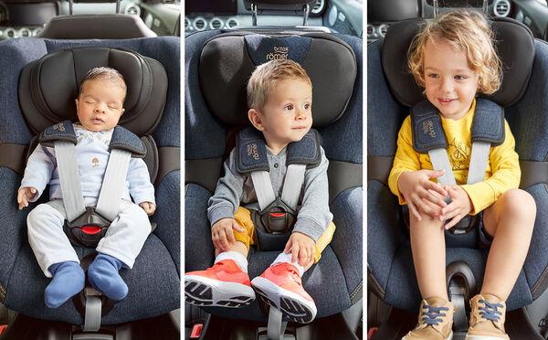 4 años, 200 semanas, 1.500 días: 1 silla de coche cómoda en todo momento
